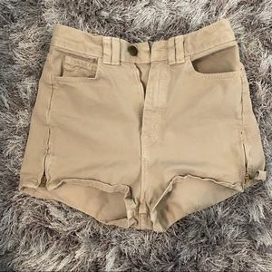 American Apparel Side Zip Short